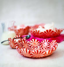 diy peppermint candy bowls from candy aisle crafts u2013 design sponge