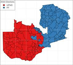 2016 Election Prediction Map by Zambian General Election 2016 Wikipedia