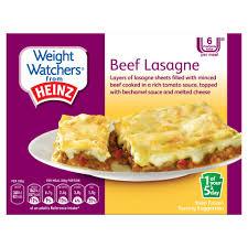 cuisine ww weight watchers from heinz beef lasagne 300g weight watchers