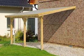 Flat Roof Pergola Plans by Diy Timber Supported Lean To Roof Kit 6m Wide 3m Long Canopy