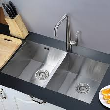 kitchen double sink sinks archives oxo bathrooms