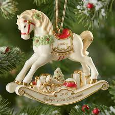 rocking ornament by lenox baby s