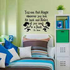 Dr Seuss Bedroom Dr Seuss Wall Decals Quotes You Can Find Magic Wherever You Dr