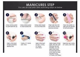 high quality nails gel uv gel nail polish raw materials in salon
