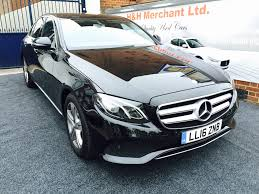 used mercedes e class saloon used mercedes e class saloon 2 0 e220d amg line 9g tronic 4dr