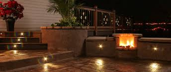 Exterior Patio Lights Photo Outdoor Led Recessed Lights Deck Steps Concrete Outside