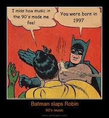 Slappin Batman Meme Generator - batman slapping robin meme font