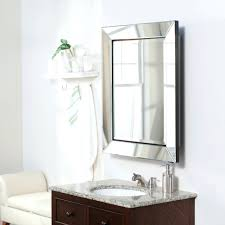 Glacier Bay Cabinet Doors by Frameless Mirrored Medicine Cabinet Recessed Beveled Mirror