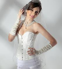 Wedding Corset Lingerie Aliexpress Com Buy Burlesque Style Brocade Corset Lingerie