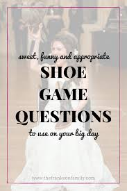 wedding shoes questions the best shoe questions hilarious reception and pdf