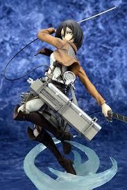 Mikasa by Amazon Com Quesq Attack On Titan Mikasa Ackerman Pvc Figure
