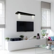 White Wooden Shelves by Amazon Com Lewis Hyman 9501122 Studiosync Lighted Shelf 35 4