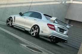 mercedes c class coupe tuning mercedes tuning the wald mercedes c class w204 sports