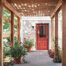 Attached Pergola Designs by Pergola Design Ideas Attached Pergolas Pergolas Doors And