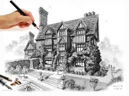 now on kickstarter u0027how to draw a quirky old house u0027 youtube