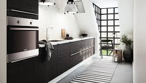 photo deco cuisine comment aménager une cuisine en longueur types avantages et astuces