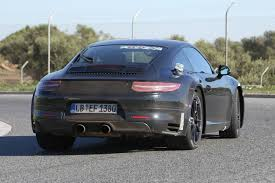 porsche electric 2018 spy images from the 2018 porsche 911 be the first to find out