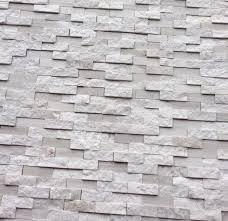 Marble Mosaic Tile White Oak Splitface Marble Mosaic Tile