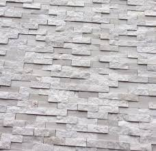 white oak splitface marble mosaic tile