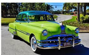 4 Door Muscle Cars - all american classic cars 1952 pontiac chieftain deluxe 4 door sedan