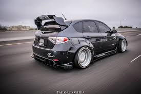 subaru hatchback custom 2011 2014 subaru wrx hatchback wide body kit mnt rider design llc