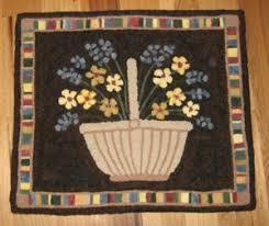 hooked rugs bittersweet baskets and homestead handles