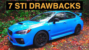 old subaru impreza hatchback 7 reasons not to buy the 2016 subaru wrx sti youtube