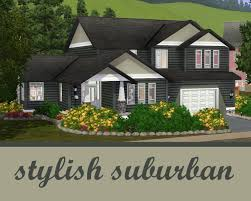 Stylish House by Mod The Sims The Stylish Suburban