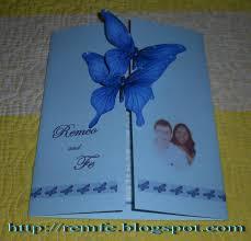How To Make Wedding Invitations My Wedding Invitation Craft And Fashion