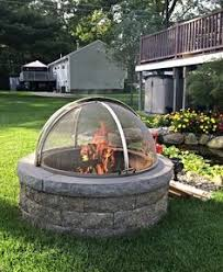 Steel Firepits Custom Stainless Steel Pit Spark Screens For All Pits