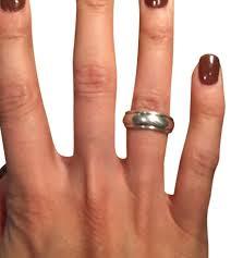 avery wedding bands avery silver eternal wedding band ring tradesy