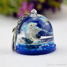 acrylic dolphin ring holder images Helmets ocean key chain pendant dolphin fish keychain acrylic bags jpg