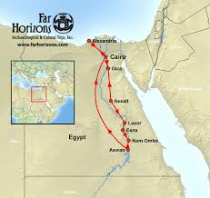 Map Of Egypt And Africa by Egypt Tour With Nile Cruise Far Horizons