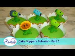 Plants Vs Zombies Cake Decorations How To Make Plants Vs Zombies Cupcakes Part 1 3 Cupcakes De