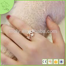girls gold rings images Wholesale 18k fancy gold ring designs for girls unique jewelry jpg
