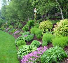 Sloped Garden Design Ideas Landscaping Ideas For Steep 1000 Images About