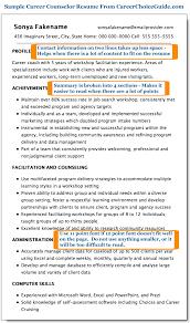 career resume exles sle career counselor resume