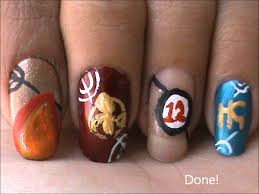 Nail Art Designs Games Hunger Games Nail Design Tutorial Youtube