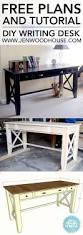 diy writing desk writing desk desks and tutorials