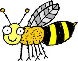 bee clipart 4 free bee clip art drawings and colorful clipartcow