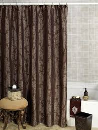 How To Make A Small Bench Bathroom Nice Bathroom Design With Brown Fabric Shower Curtains