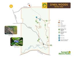 Valley Metro Map by O U0027neil Woods Metro Park Summit County Metro Parks