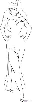 coloring pages jessica name roger rabbit coloring pages page color printable who framed
