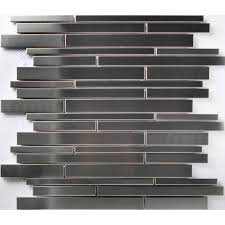 Stainless Steel Tiles For Kitchen Backsplash Tst Stainless Steel Mosaic Tile Silver Mirror Glass Tiles
