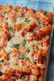 pasta recipes chicken parmesan baked pasta recipe budget savvy diva