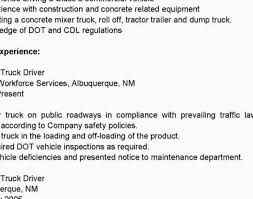 truck driver resume sample signs 7 commercial truck driver resume sample beautiful driver