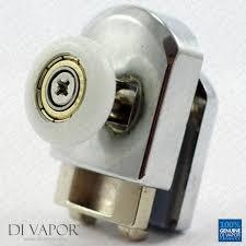 Replacement Shower Door Runners Di Vapor R 22mm 23mm 25mm Bottom Shower Door Rollers Offset