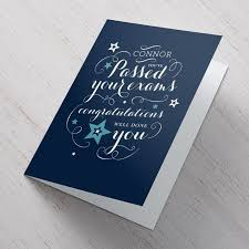 congratulations card personalised congratulations card well done you from 99p