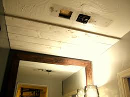 ceiling planks woodhaven painted white image of tongue and