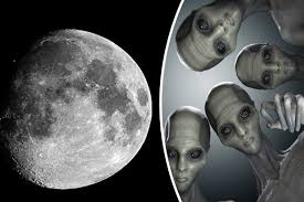 aliens on the moon top scientist claims oxygen moved from earth
